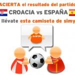 Gana una camiseta de Simyo adivinando el resultado de España Croacia en la Eurocopa