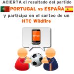 Gana un HTC Wildfire con Simyo y el España-Portugal