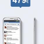 Samsung Galaxy S3 libre con Tuenti Móvil desde 479 euros