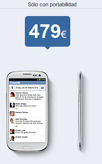 Samsung S3 SIII libre con Tuenti Móvil