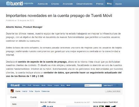 Blog de Tuenti Móvil