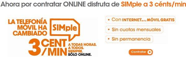 La tarifa SIMple de Euskaltel baja a 3 céntimos/minuto