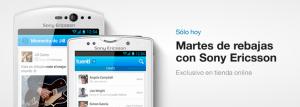 Rebajas en los Sony Ericsson móviles con Tuenti Móvil