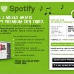 Yoigo te regala Spotify Premium gratis durante 3 meses