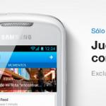 Oferta especial Samsung Galaxys solo hoy en Tuenti Móvil