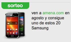 Sorteo de móviles Samsung gratis en Amena