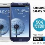 50 euros de descuento directo con Yoigo y Jazztel Móvil para el Samsung Galaxy S3 y otros Samsung