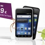 Smartphone Android ZTE KIS por 89 euros en prepago con Yoigo