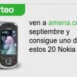 Sorteo de Nokias si te haces de Amena este septiembre