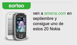 Sorteo de 20 Nokias en septiembre