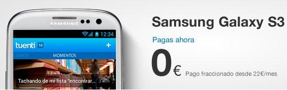 Samsung Galaxy S3 con Tuenti Móvil