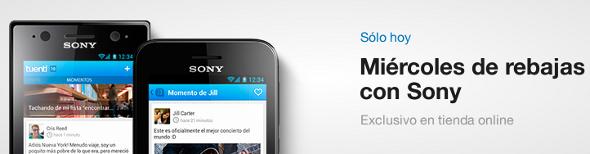 Oferta en Sony Ericsson en Tuenti Móvil