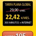 La tarifa plana global de RACC Móvil más barata si no compramos móvil-smartphone y 500 MB de internet móvil
