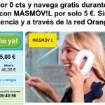 Nuevo cupón MÁSmovil: Tarifa Cero, 1 GB datos/mes durante 5 meses por un 1 euro/mes