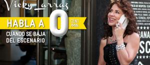 Vicky Larraz promociona la tarifa de MÁSmovil cero