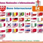 Bonos nacionales e internacionales desde 5 euros semanales en Lycamobile