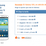 Samsung I8190 Galaxy S3 Mini con Simyo