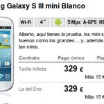 Yoigo ofrece ya el Samsung Galaxy S3 Mini