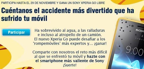 Sony Xperia Go libre gratis