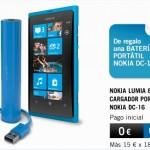 Batería extra portátil gratis con Nokia Lumia y Yoigo