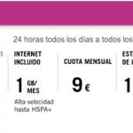 Tarifa del Uno de Yoigo: Llamadas a 1 céntimo/minuto y 1 GB de datos por 9 euros