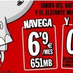 Pepephone mejora su tarifa del Elefante y el ratón: 0.9 céntimos/minuto