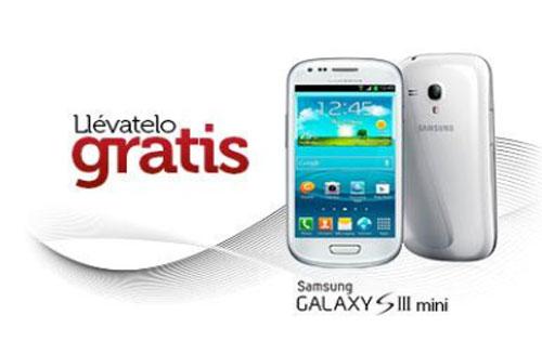 Samsung Galaxy S3 mini gratis con Ocean's