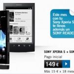 Ebook reader Sony gratis si compramos con Yoigo el Sony Xperia S
