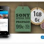 Tuenti Móvil continúa ofertando su Sony Xperia Tipo libre prepago por 99 euros