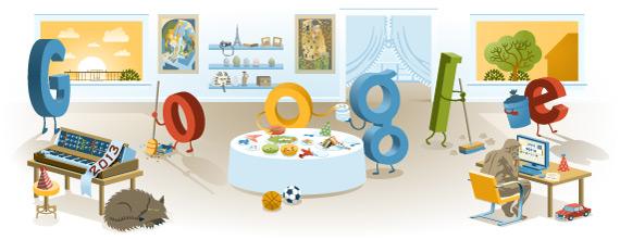 Felicitación nuevo año 2013 Google