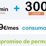 Nueva tarifa feliz de Happy Móvil, con 300 megas por un consumo mínimo de 4.9 euros
