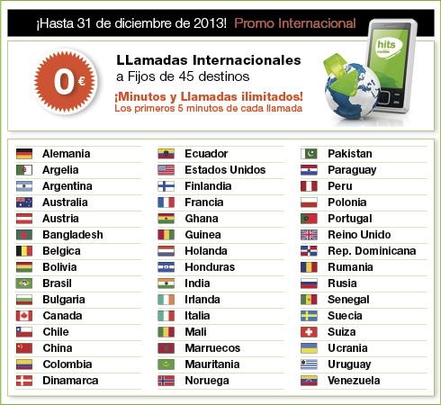 Llamadas internacionales gratis