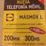 MÁSmovil también se distribuye en supermercados Lidl