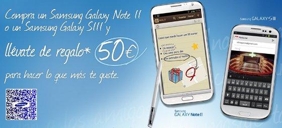 Descuento con Yoigo y OMVs en Samsung Galaxy S3 y Note 2