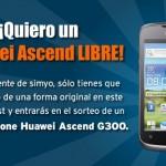 Móvil Huawei Ascend libre con Simyo