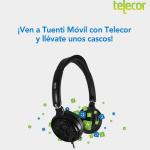 Unos cascos gratis haciéndote de Tuenti Móvil en tiendas Telecor