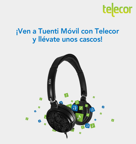 Cascos gratis en Tuenti Móvil de Telecor