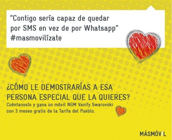 Promoción de San Valentín de MÁSmovil