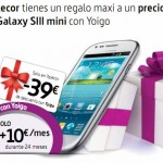 Descuento Samsung Galaxy S3 Mini en Telecor con Yoigo