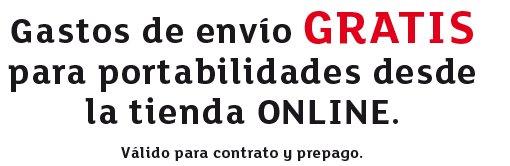 Con Eroski Móvil compra online gastos envío gratis