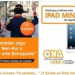Gana un iPad mini con Euskaltel Ona en su concurso Facebook