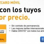 Jazzcard Móvil, llamadas a 1 céntimo/minuto y gratis entre Jazztel