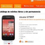 Simyo apuesta por Android en su tienda de móviles libres