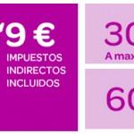 Bono de 300 megas y 60 minutos por 9.90 euros con Carrefour Móvil