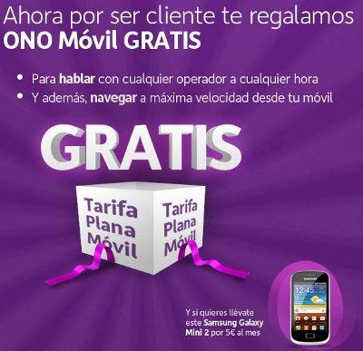 Llamadas datos móviles gratis con ONO