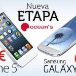 Ocean's pone hoy a la venta el iPhone 5 y el Samsung Galaxy S3 a un precio competitivo