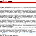 Pepephone mejora los bonos de datos de todos sus clientes