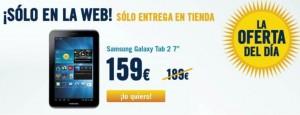 Samsung Galaxy Tab 2 libre y barato