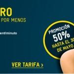 MÁSmovil amplía su oferta de la Tarifa 0: 1 giga por 4.5 euros hasta 30 de mayo
