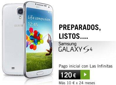 Samsung Galaxy S4 con Yoigo